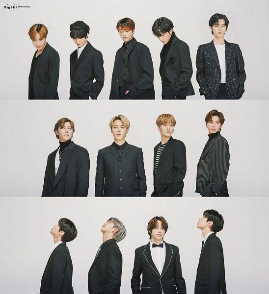 Tags: K-Pop, TXT, BTS, Beomgyu, Jungkook, Jin, Yeonjun, V (Kim Taehyung), Lee Hyun, Rap Monster, Soobin (TXT), Park Jimin