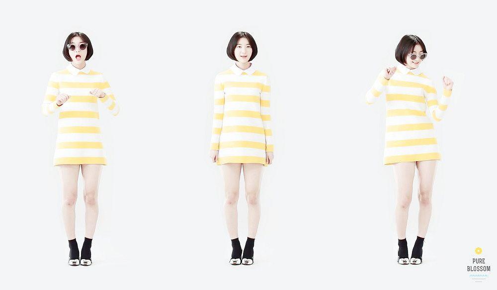 Tags: K-Pop, Oh My Girl, Binnie, Light Background, White Background, Trio, Three Girls