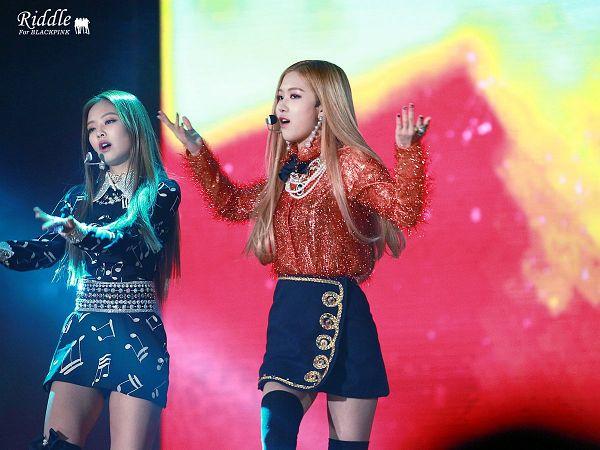 Tags: K-Pop, Black Pink, Rosé (singer), Jennie Kim