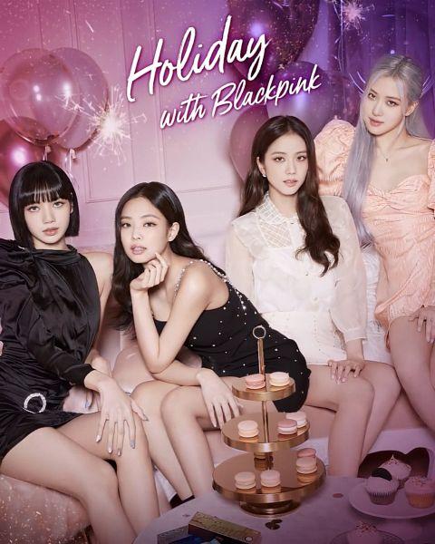 Tags: K-Pop, Black Pink, Lisa, Jennie Kim, Rosé (singer), Kim Jisoo