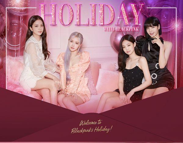 Tags: K-Pop, Black Pink, Jennie Kim, Rosé (singer), Kim Jisoo, Lisa, Sleeveless, Sitting On Couch, Bare Legs, Four Girls, Hand On Leg, Couch