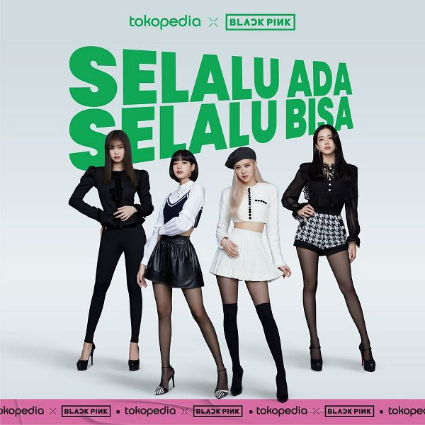 Tags: K-Pop, Black Pink, Lisa, Jennie Kim, Rosé (singer), Kim Jisoo, Quartet, Four Girls, SHIBUYA109, Poster, Scan