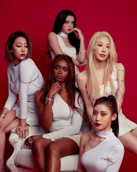 Tags: K-Pop, Blackswan, Rania, Hyemi, Judy, Go Youngheun, Fatou, Leia