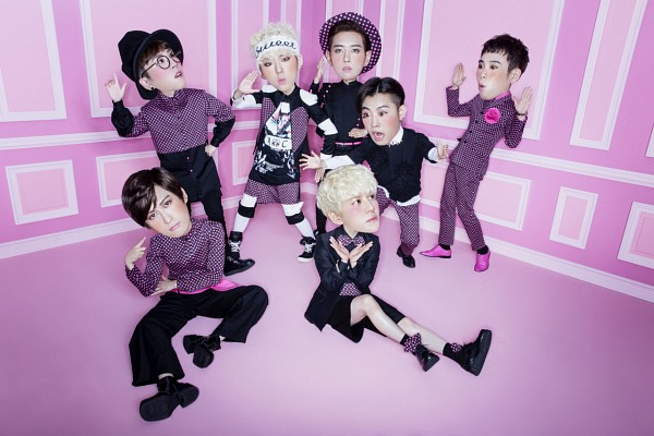 Tags: K-Pop, Block B, P.O, Zico, Taeil, Kyung, Jaehyo, U-kwon, B-bomb, Pink Footwear, Suit, Looking Up