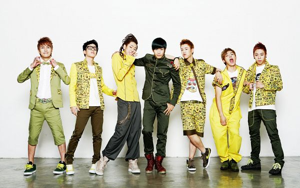 Tags: K-Pop, Block B, Kyung, Jaehyo, U-kwon, B-bomb, P.O, Zico, Taeil, Glasses, Braids, Red Hair