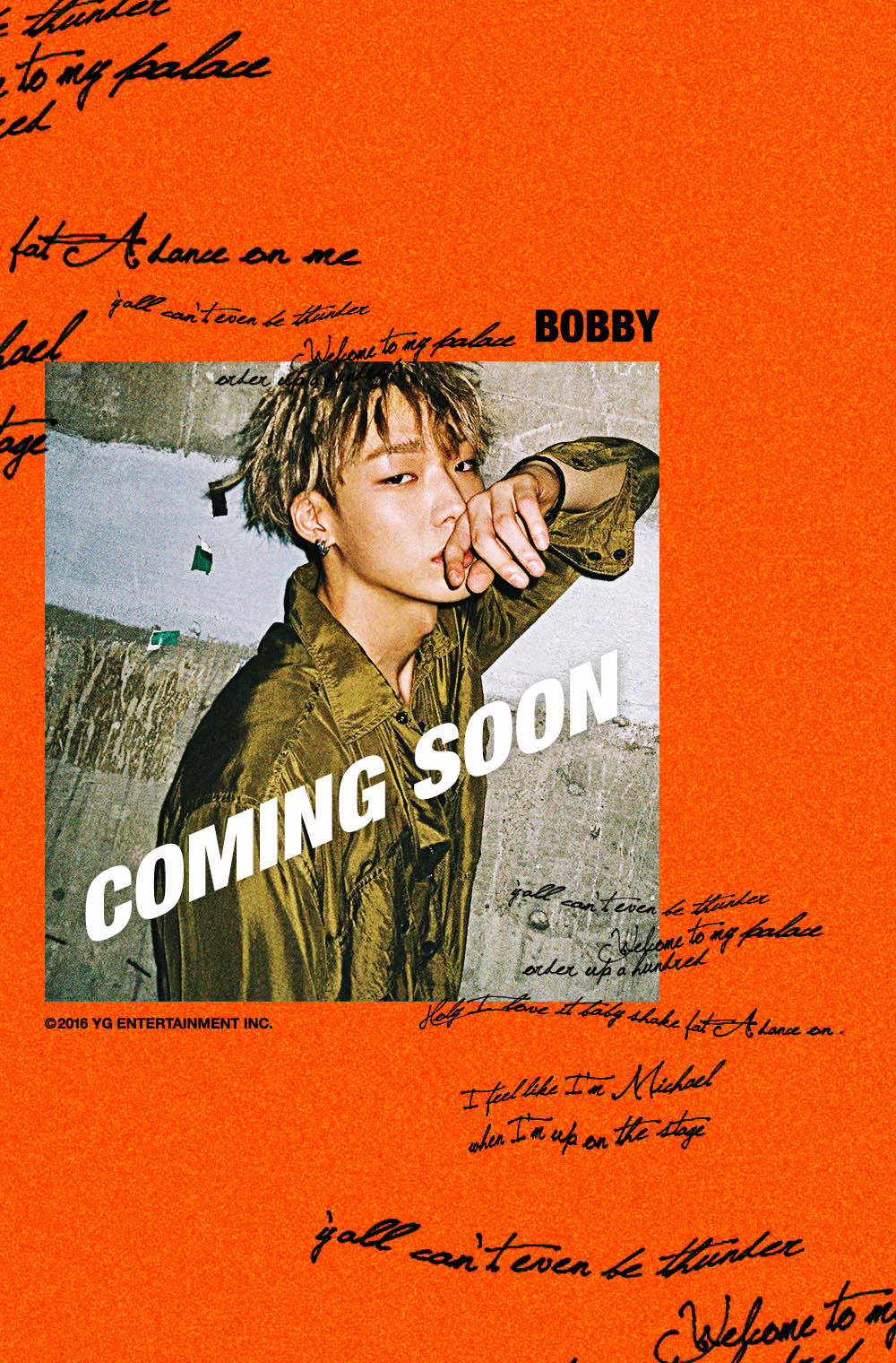 Bobby Androidiphone Wallpaper 149844 Asiachan Kpop Image