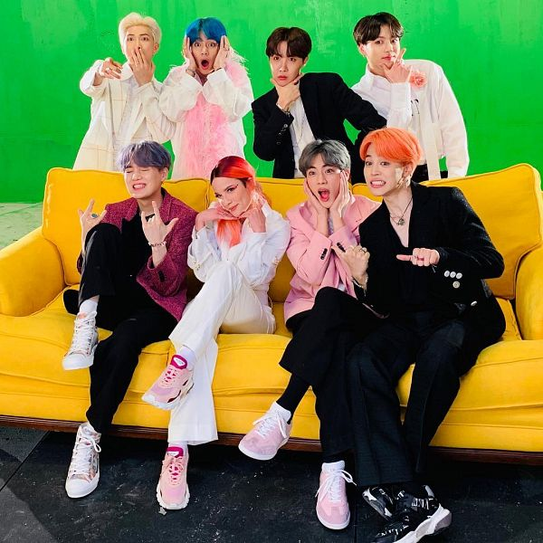 Tags: K-Pop, Bangtan Boys, Boy With Luv, J-Hope, Suga, Jungkook, Jin, Halsey, V (Kim Taehyung), Rap Monster, Park Jimin, Full Group