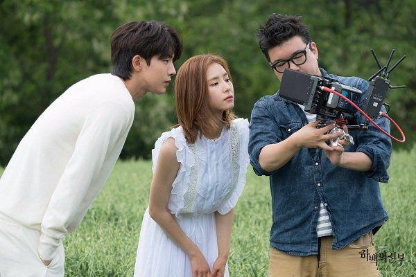Tags: K-Drama, Shin Se-kyung, Nam Joo-hyuk, Duo, Tree, Grass, Plant, Bride Of The Water God