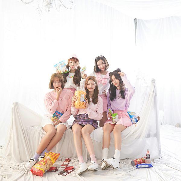 Tags: JTG Entertainment, K-Pop, Busters, Dream On, Myeong Hyeongseo, Cha Minjeong, Jung Jisu, Kim Minji (Busters), Kim Chaeyeon, Hat, Medium Hair, Pink Skirt