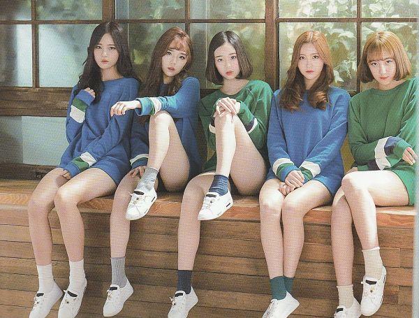 Tags: JTG Entertainment, K-Pop, Busters, Dream On, Jung Jisu, Kim Minji (Busters), Kim Chaeyeon, Myeong Hyeongseo, Cha Minjeong, Five Girls, Green Legwear, Group