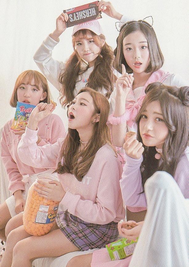 Tags: JTG Entertainment, K-Pop, Busters, Dream On, Cha Minjeong, Jung Jisu, Kim Minji (Busters), Kim Chaeyeon, Myeong Hyeongseo, Food, Chocolate, Quintet