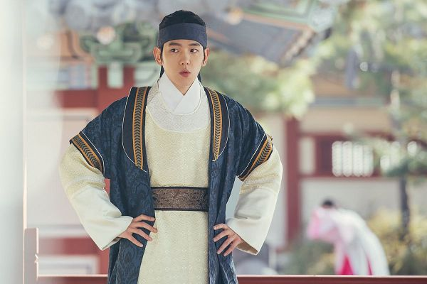 Tags: K-Pop, K-Drama, EXO, Byun Baekhyun, Korean Clothes, Hairband, Traditional Clothes, Hand On Hip, Moon Lovers: Scarlet Heart Ryeo