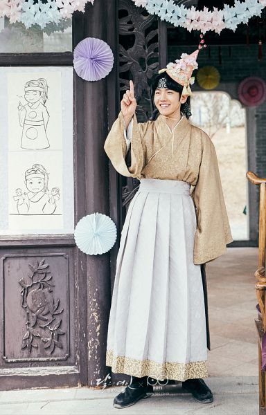 Tags: K-Pop, K-Drama, EXO, Byun Baekhyun, Korean Clothes, Hairband, Traditional Clothes, Android/iPhone Wallpaper, Moon Lovers: Scarlet Heart Ryeo