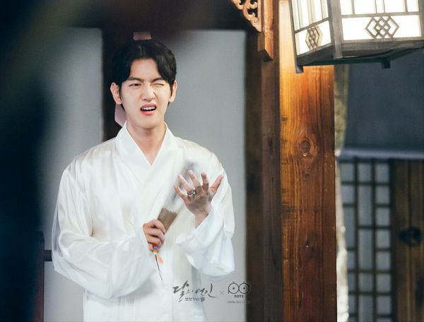 Tags: K-Drama, K-Pop, EXO, Byun Baekhyun, Ring, White Outfit, Traditional Clothes, Korean Clothes, Wink, Moon Lovers: Scarlet Heart Ryeo