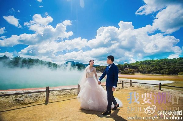 Tags: C-Drama, Nicky Wu, Liu Shishi, Holding Hands, See Through Clothes, Fence, Water, Walking, Clouds, Duo, Lake, Full Body