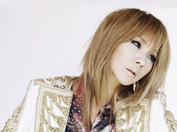 Tags: K-Pop, 2NE1, I Love You (Song), CL, White Background, Light Background