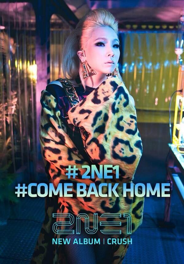 Tags: K-Pop, 2NE1, CL, Come Back Home (Song), Crush (Album)