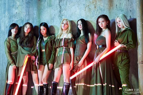 Tags: K-Pop, CLC (CrystaL Clear), Elkie, Sorn, Jang Seungyeon, Choi Yujin, Jang Yeeun, Kwon Eunbin, Oh Seunghee