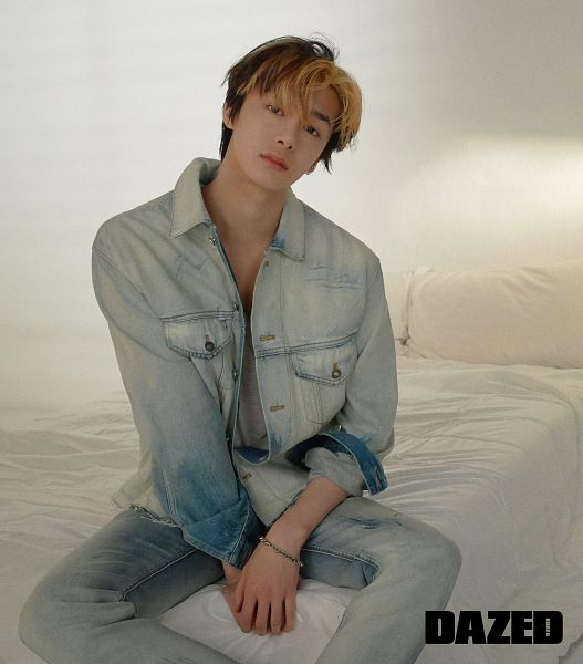 Tags: K-Pop, Monsta X, Chae Hyungwon, Bed, Dazed & Confused Korea, Magazine Scan