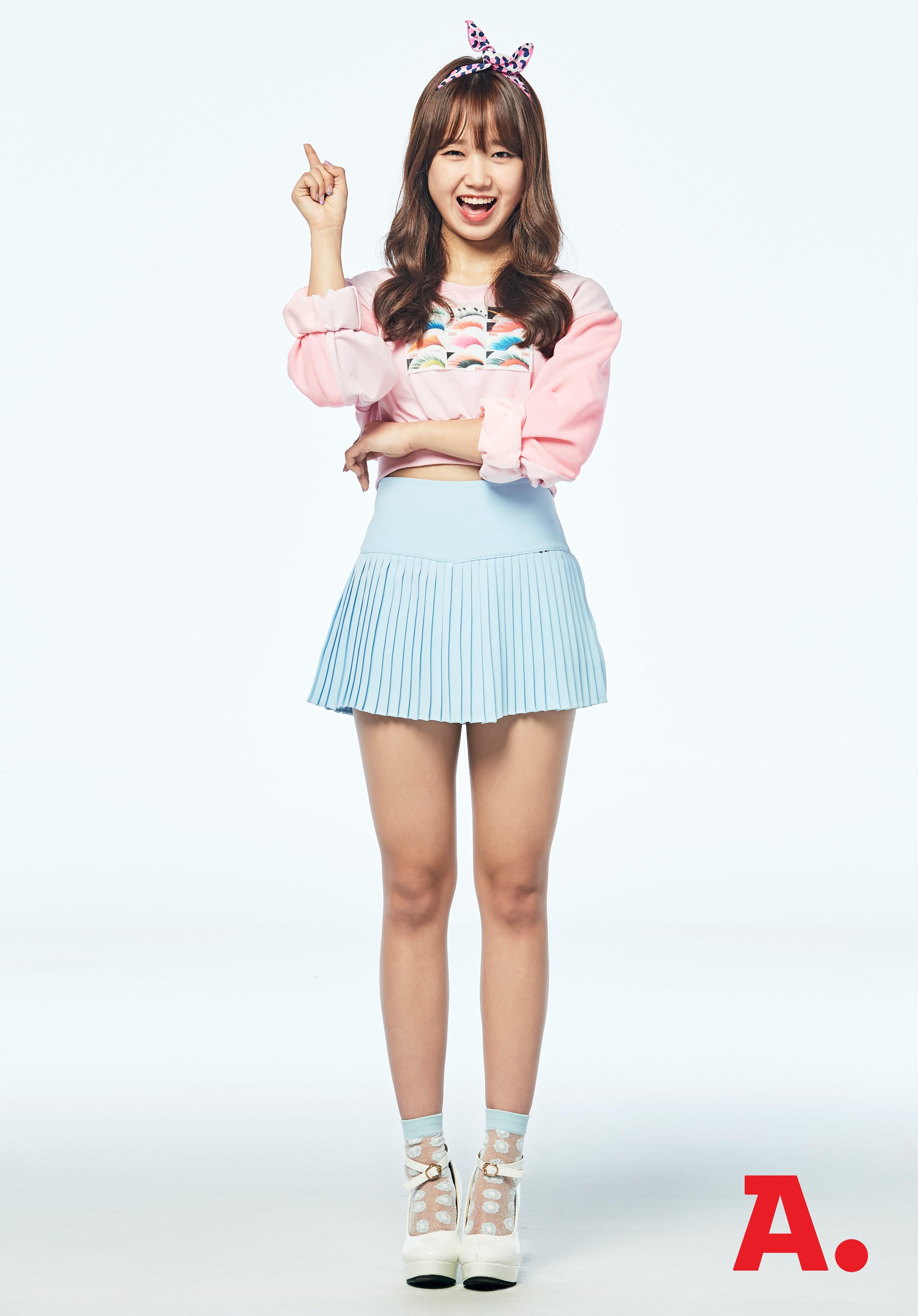 tags k pop i o i choi yoo jung pink shirt