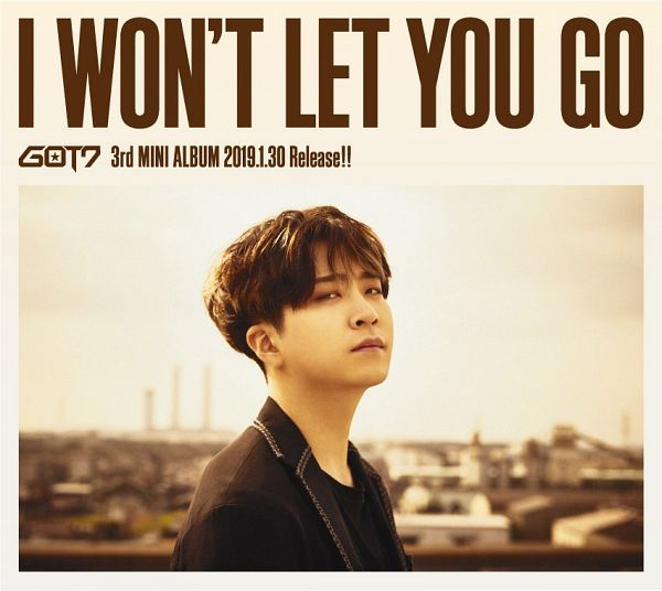 Tags: K-Pop, J-Pop, Got7, Choi Youngjae, Text: Calendar Date, Black Jacket, Text: Artist Name, English Text, Black Outerwear, Text: Song Title, Text: Album Name, Black Shirt