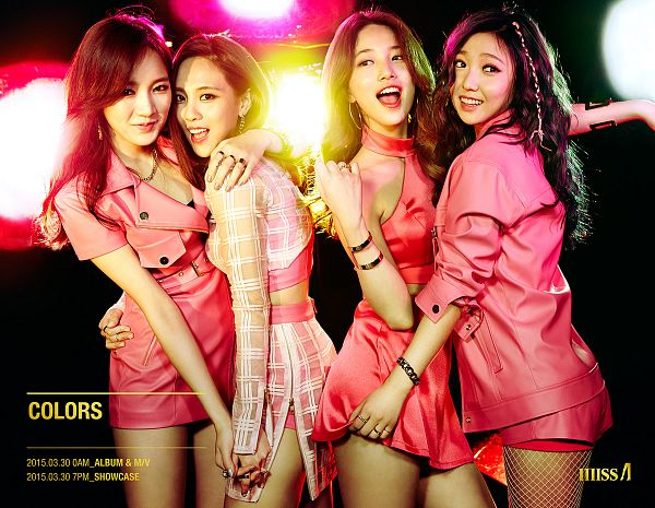 Colors (Album) - Miss A