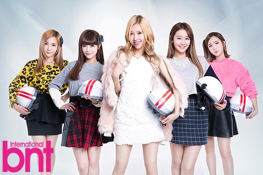 Tags: Crayon Pop, Geummi, Soyul, Choa, Way, Ellin, Helmet, International Bnt