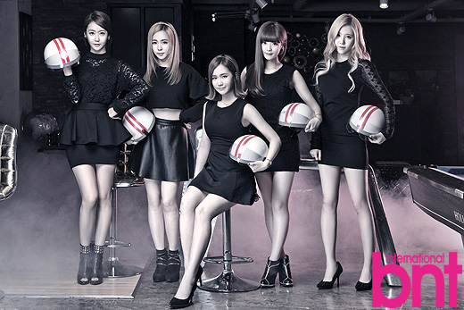 Tags: Crayon Pop, Choa, Way, Ellin, Geummi, Soyul, Black Outfit, Black Dress, High Heels, Helmet, Black Footwear, International Bnt