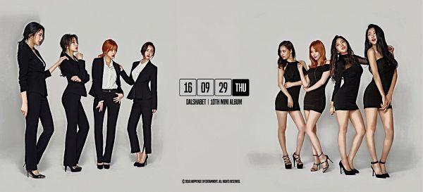 Tags: Happyface Entertainment, K-Pop, Dal Shabet, Ah Young, Serri, Cho Subin, Bae Woo-hee, Fri Sat Sun (Album)