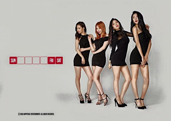 Tags: Happyface Entertainment, K-Pop, Dal Shabet, Serri, Cho Subin, Bae Woo-hee, Ah Young, Fri Sat Sun (Album)