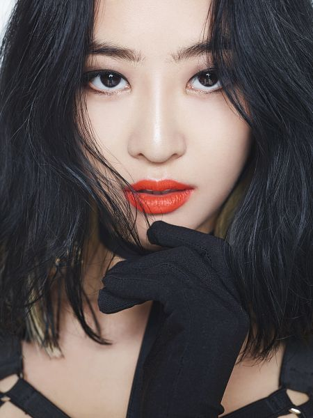 Tags: Sistar, Shake It, Dasom Kim, Black Gloves, Red Lips, Teeth, Android/iPhone Wallpaper