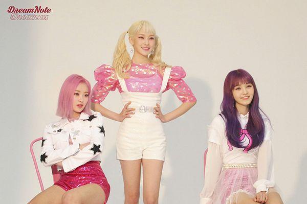 Tags: K-Pop, DreamNote, Lara, Hanbyeol (Dreamnote), Miso