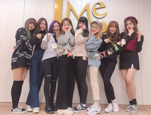 Tags: K-Pop, DreamNote, Hanbyeol (Dreamnote), Lara, Habin, Boni, Eunjo, Youi, Sumin (Dreamnote), Miso