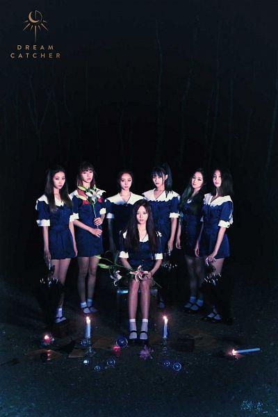 Tags: K-Pop, Dreamcatcher, Sua, Jiu, Lee Gahyeon, Dami (Dreamcatcher), Handong, Kim Yoohyeon, Lee Siyeon, Bent Knees, Candle, Sitting