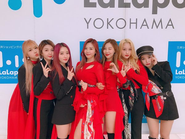 Tags: K-Pop, Dreamcatcher, Jiu, Lee Gahyeon, Dami, Handong, Kim Yoohyeon, Lee Siyeon, SuA