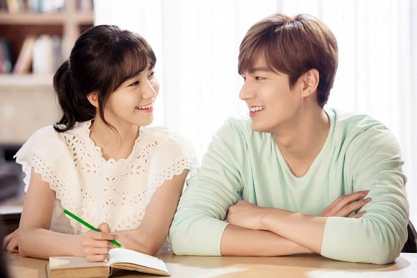 Tags: SM Town, K-Pop, K-Drama, Girls' Generation, Im Yoona, Lee Min-ho, Open Book, Writing (Action), Book, Couple, Duo, Wallpaper