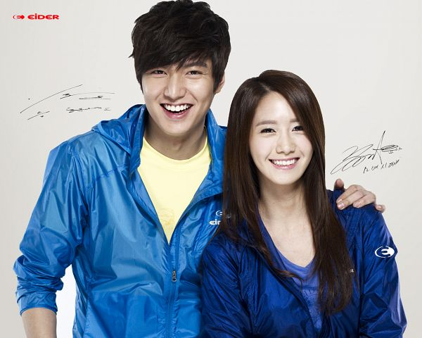 Tags: SM Town, K-Pop, Girls' Generation, Lee Min-ho, Im Yoona, Duo, Hand On Shoulder