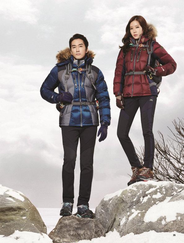 Tags: K-Drama, Im Soo-hyang, Song Seung-heon, Hood, Snow, Fur, Fur Trim, Duo, Kolping