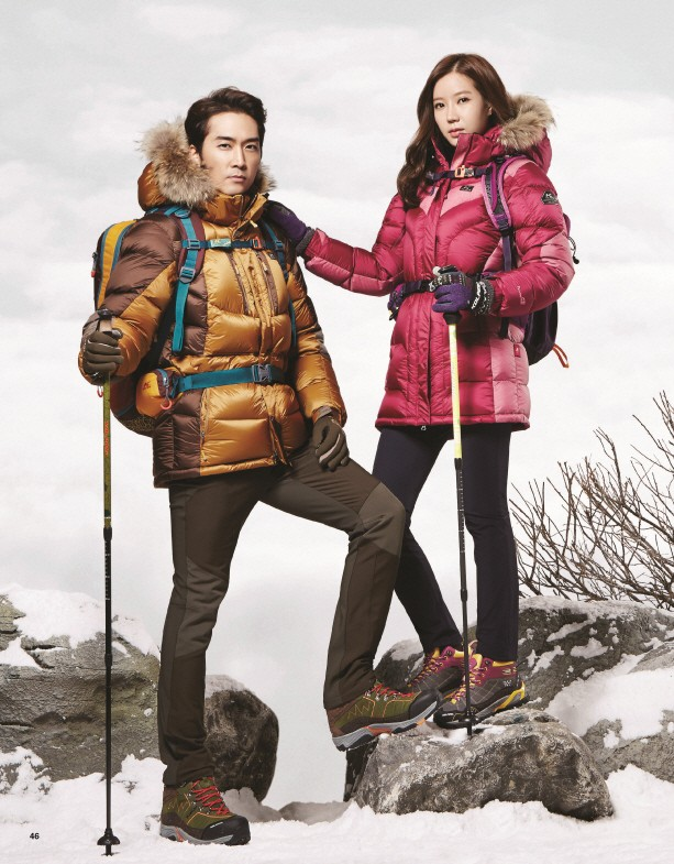 Tags: K-Drama, Song Seung-heon, Im Soo-hyang, Fur, Fur Trim, Duo, Snow, Kolping