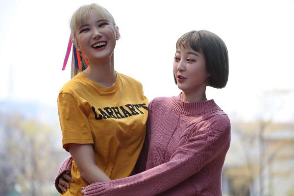 Tags: K-Pop, EXID, Seo Hyerin, Le, Two Girls, Duo