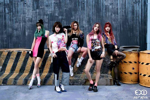 Tags: K-Pop, EXID, Hot Pink, Le, Hani, Park Junghwa, Seo Hyerin, Heo Solji