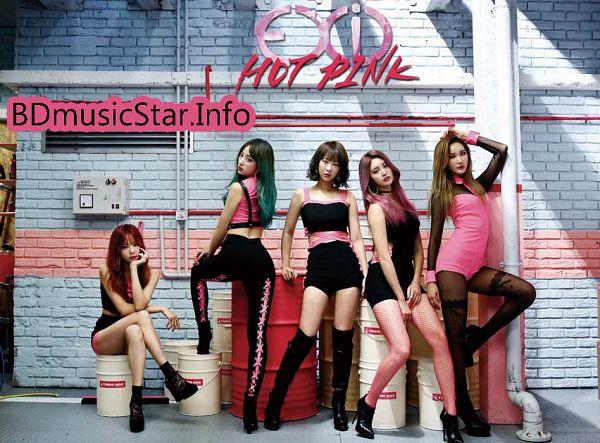Tags: K-Pop, EXID, Hot Pink, Seo Hyerin, Heo Solji, Le, Hani, Park Junghwa