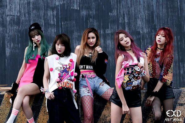 Tags: K-Pop, EXID, Hot Pink, Park Junghwa, Seo Hyerin, Heo Solji, Le, Hani