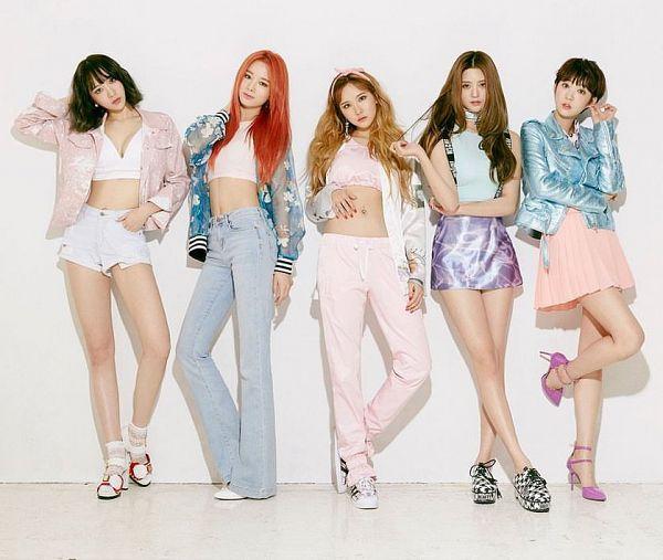 Tags: K-Pop, EXID, Le, Hani, Park Junghwa, Seo Hyerin, Heo Solji, Street (Album)