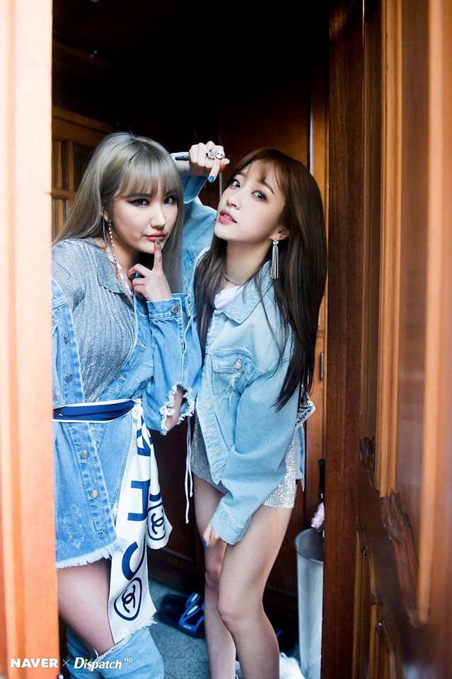 Tags: K-Pop, EXID, Le, Hani, Two Girls, Duo, Dispatch