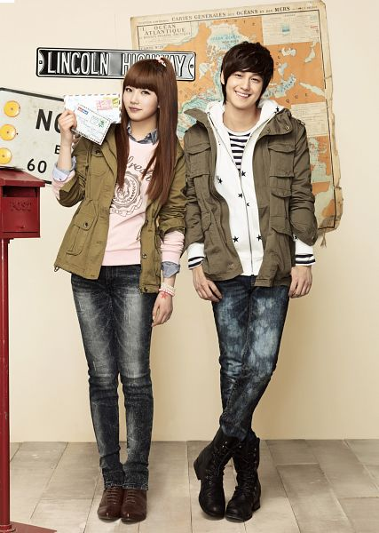Tags: K-Pop, K-Drama, Miss A, Kim Bum, Bae Suzy, Grin, Hoodie, Duo, Blunt Bangs, Map, Edwin, Android/iPhone Wallpaper