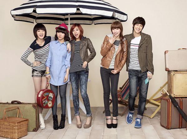 Tags: JYP Entertainment, K-Drama, K-Pop, Miss A, Meng Jia, Min, Kim Bum, Wang Feifei, Bae Suzy, Umbrella, Quintet, Medium Hair