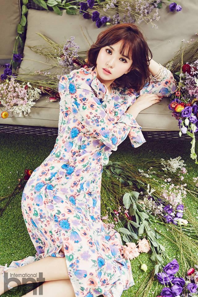 Tags: K-Pop, G-friend, Eunha, Flower, International Bnt, Magazine Scan