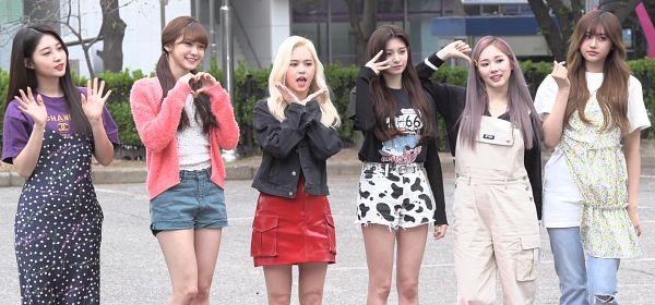 Tags: K-Pop, Everglow, Wang Yiren, Kim Sihyeon, Mia, Aisha, E:U, Onda