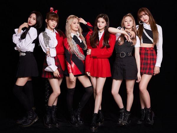 Tags: K-Pop, Everglow, Kim Sihyeon, Wang Yiren, Onda, Mia, Aisha, E:U